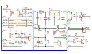 need UPS Circuit diagram