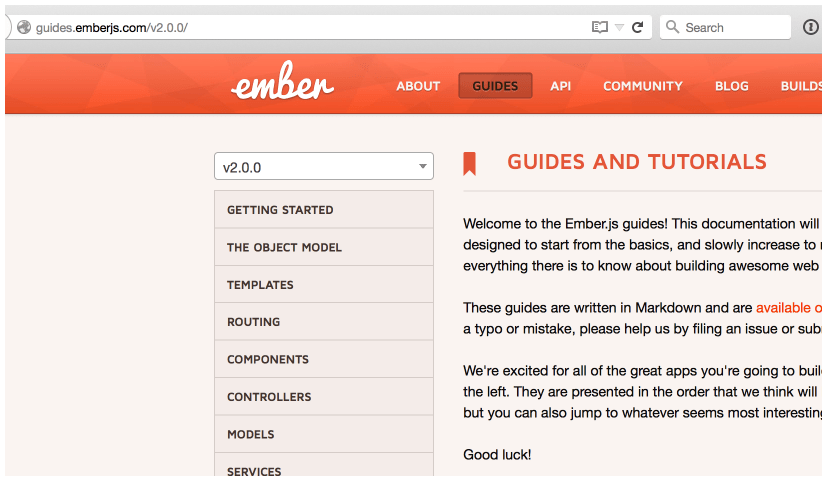 -> Starting Ember Guide