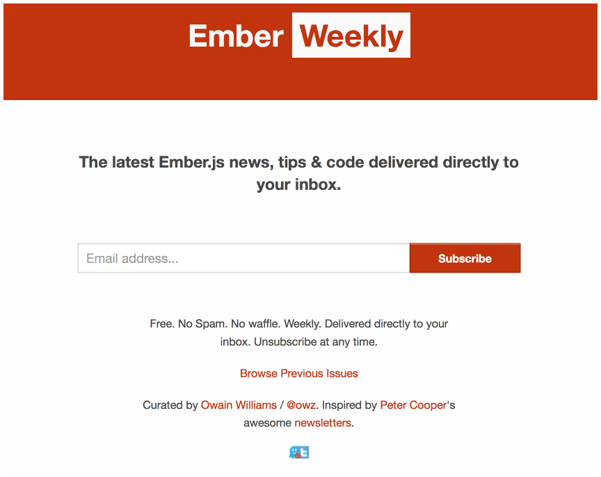 Reading the fantastic Ember newsletter