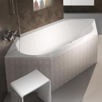 Riho Kansas Sechseck Badewanne, Einbau   BA97005   Emero.de