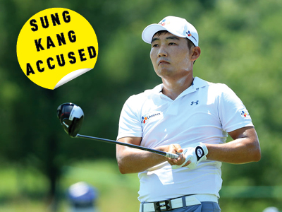 Kang accused of cheating