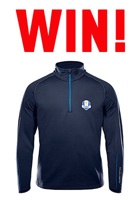 WIN A GALVIN GREEN RYDER CUP PULLOVER!