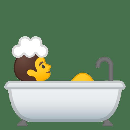 Personne Prenant Un Bain Emoji
