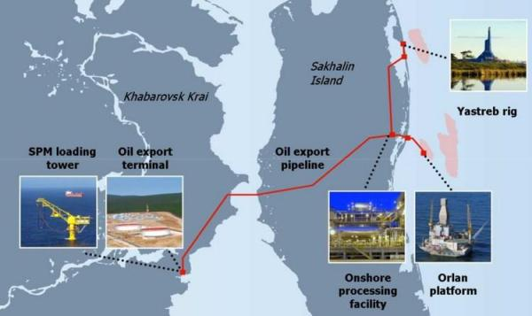 Russia: ExxonMobil begins production at the Sakhalin-1 ...
