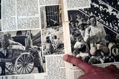 Una doble difusión de los atentados de Madrid se publicó en el New York Times Magazine el 24 de enero de 1937.  Contenía la foto de Capa del edificio.
