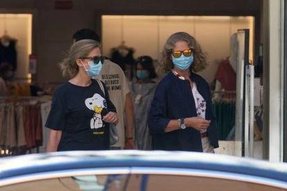 Las 'Infantas' Cristina y Elena en una foto de archivo del pasado mes de octubre