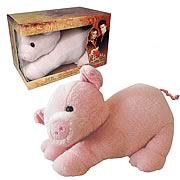 Buffy Mr. Gordo Stuffed Pig Plush Replica
