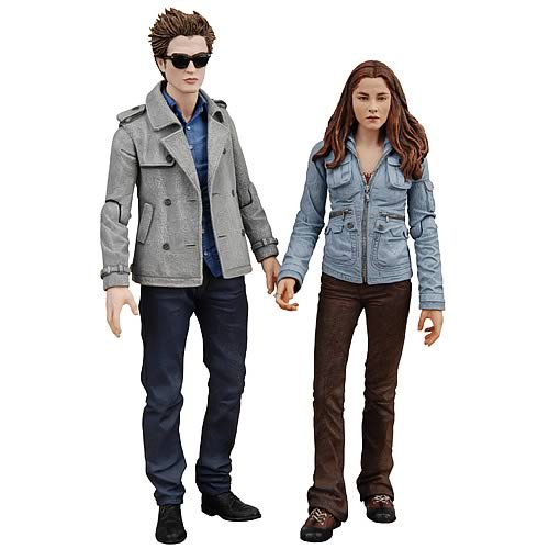 Twilight Edward and Bella Action Figure 2-Pack