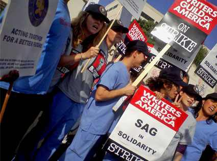 Grey's Anatomy cast, Writers' Strike