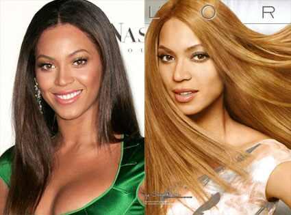 Beyonce, L'Oreal Ad