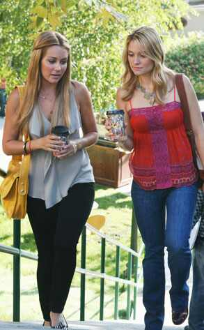 Lauren Conrad, Spencer Grammer, Greek