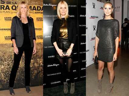 Charlize Theron, Gwyneth Paltrow, Heidi Klum