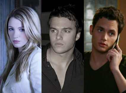 Blake Lively, Chris Riggi, Penn Badgley