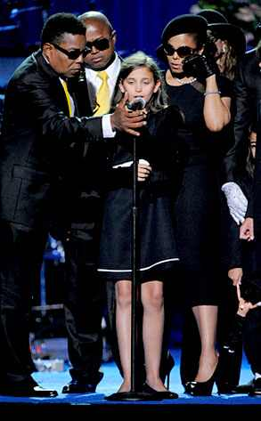 Paris Jackson, Jackson Family, Michael Jackson, Memorial
