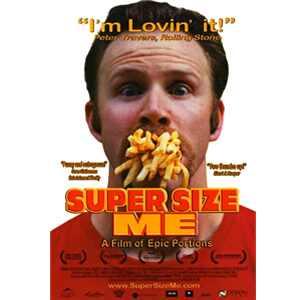 Morgan Spurlock, Super Size Me (poster)