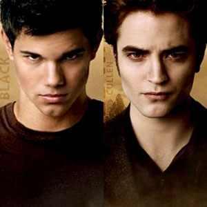 Taylor Lautner, Robert Pattinson, New Moon