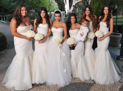 ** Kim Kardashian, Kris Humphries boda