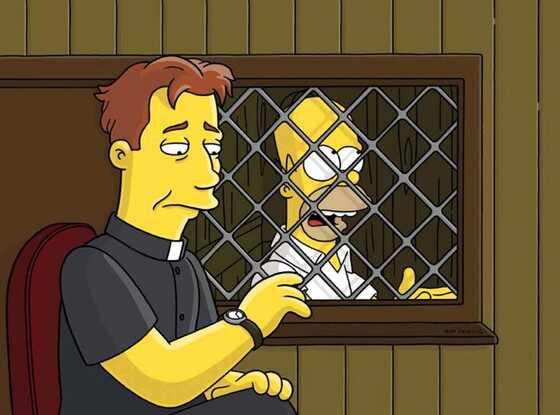 Liam Neeson, The Simpsons