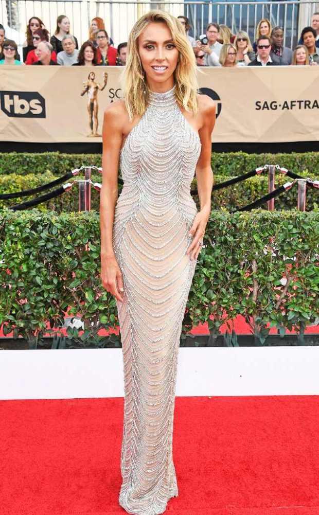2017 SAG Awards: Red Carpet Arrivals Giuliana Rancic, 2017 SAG Awards, Arrivals