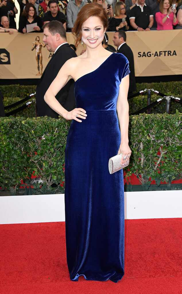 2017 SAG Awards: Red Carpet Arrivals Ellie Kemper, 2017 SAG Awards, Arrivals