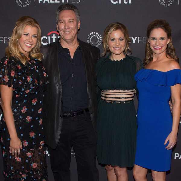 Jodie Sweetin, Jeff Franklin, Candace Cameron Bure, Andrea Barber