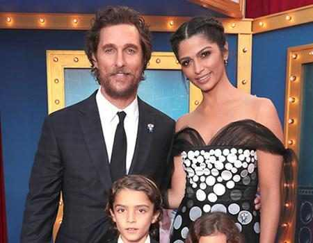 Matthew McConaughey and His 3 Kids Steal the Show By ...