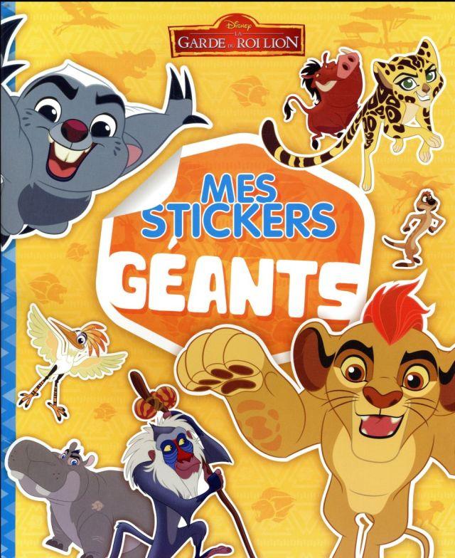 Mes stickers géants ; la garde du Roi Lion