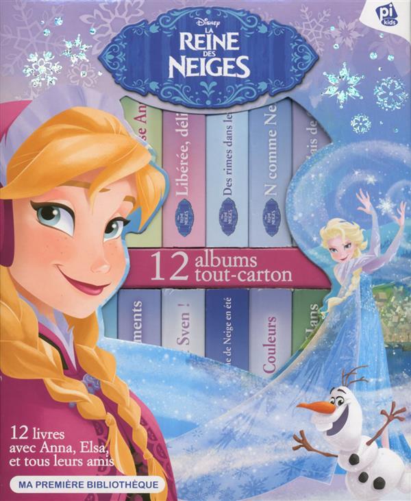 ma premiere bibliotheque la reine des neiges coffret disney pi kids grand format le hall du livre nancy