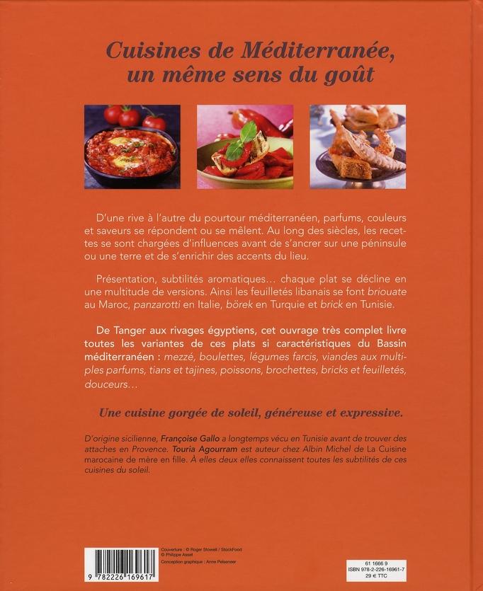 la mediterranee des saveurs 430 recettes gallo agourram albin michel grand format espace culturel leclerc st leu