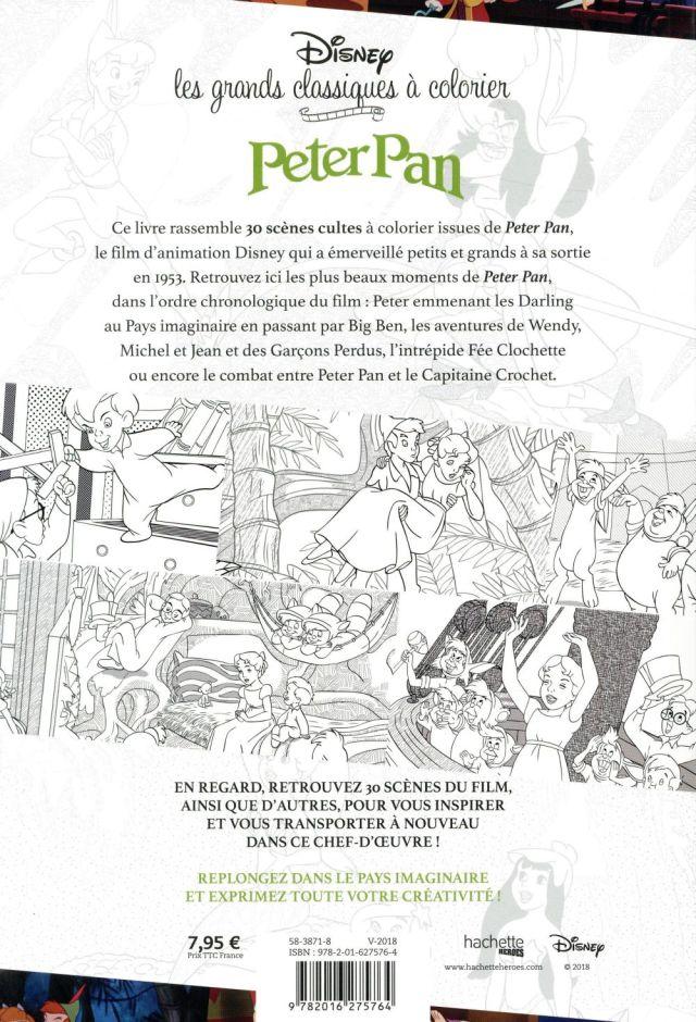 Peter Pan - Audrey Bussi - Hachette Pratique - Grand format - Le