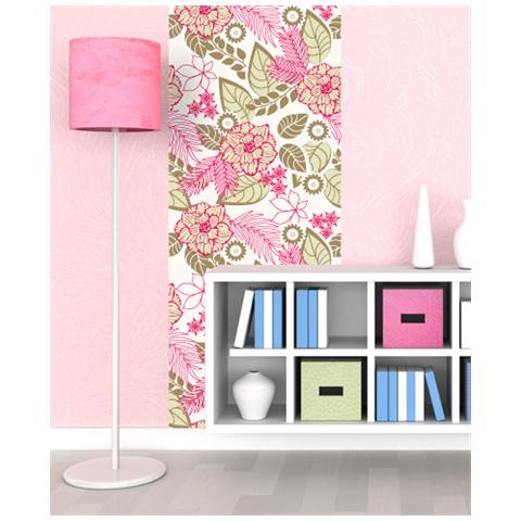 Una camera da letto diversa dalle altre; Adesivi Creativi Carta Da Parati Floreale Decorazione Murale Da Parete Adesiva Dimensioni 120 X 270 Cm Eprice