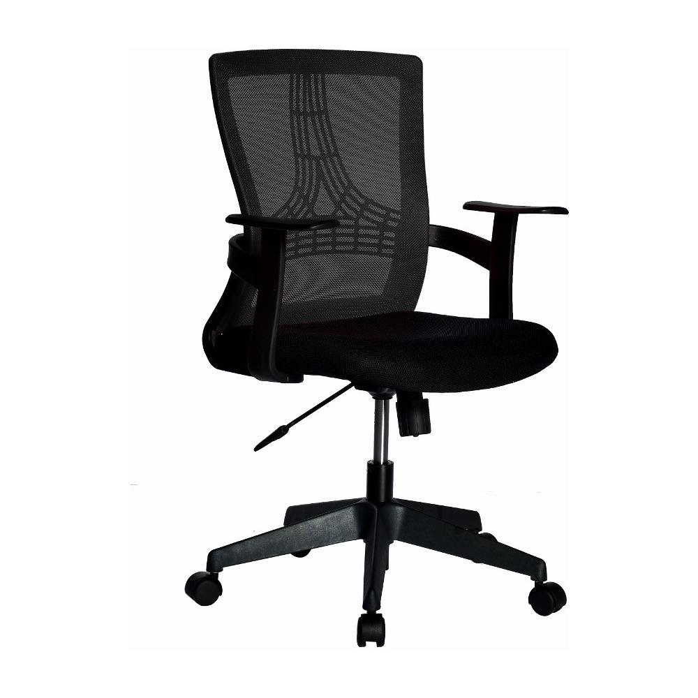 Non è detto che una sedia da ufficio in possesso di tutte le caratteristiche necessarie garantire efficienza e sicurezza debba richiedere un investimento economico notevole. Techly Ica Ct Mc058bk Sedia Per Ufficio Con Schienale Medio Nero Eprice