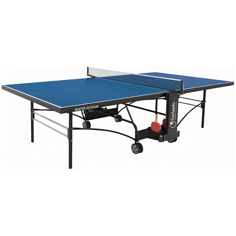 Garlando Tavolo Ping Pong Da Esterno C 373e Master Outdoor Colore Blu