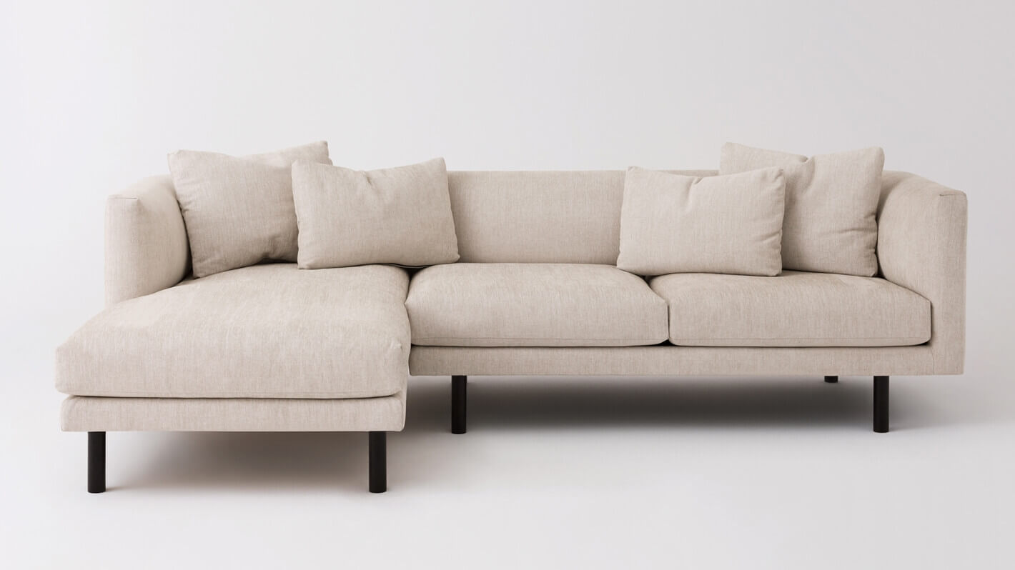 Replay 2 Piece Sectional Sofa With Chaise Eq3