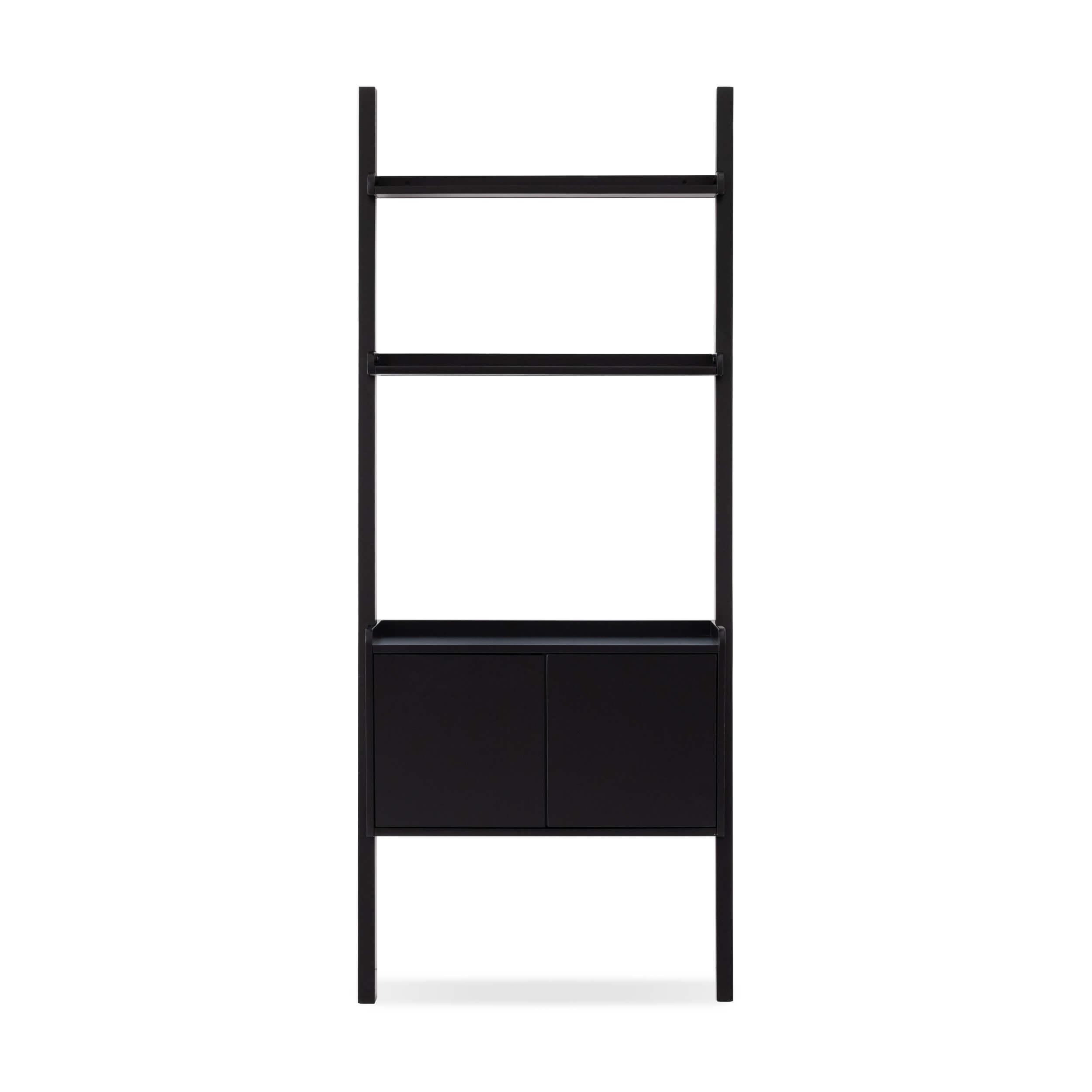 Asterix Ladder Shelf With Storage