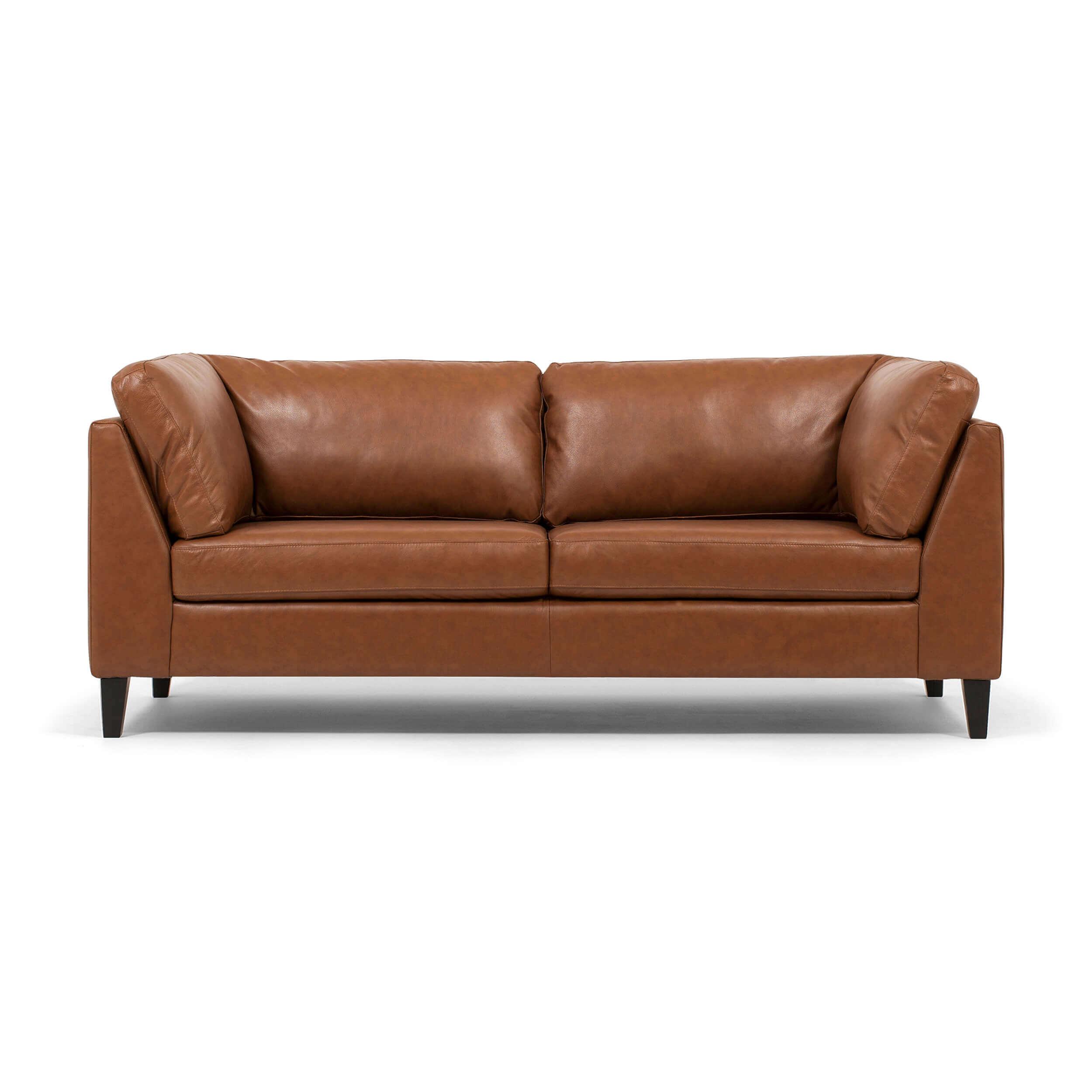 salema apartment sofa leather