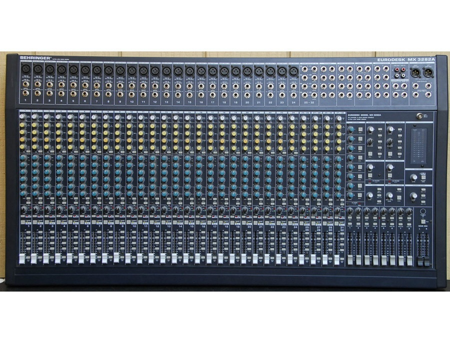 Behringer Eurodesk Mx3282a Reviews Amp Prices Equipboard 174