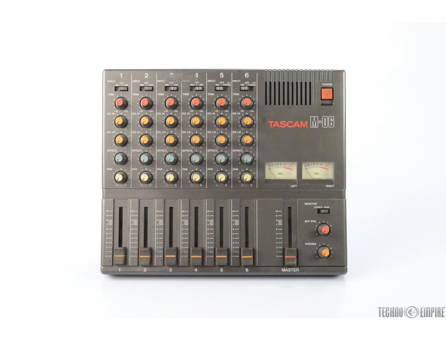 Tascam M 06 Reviews Amp Prices Equipboard 174