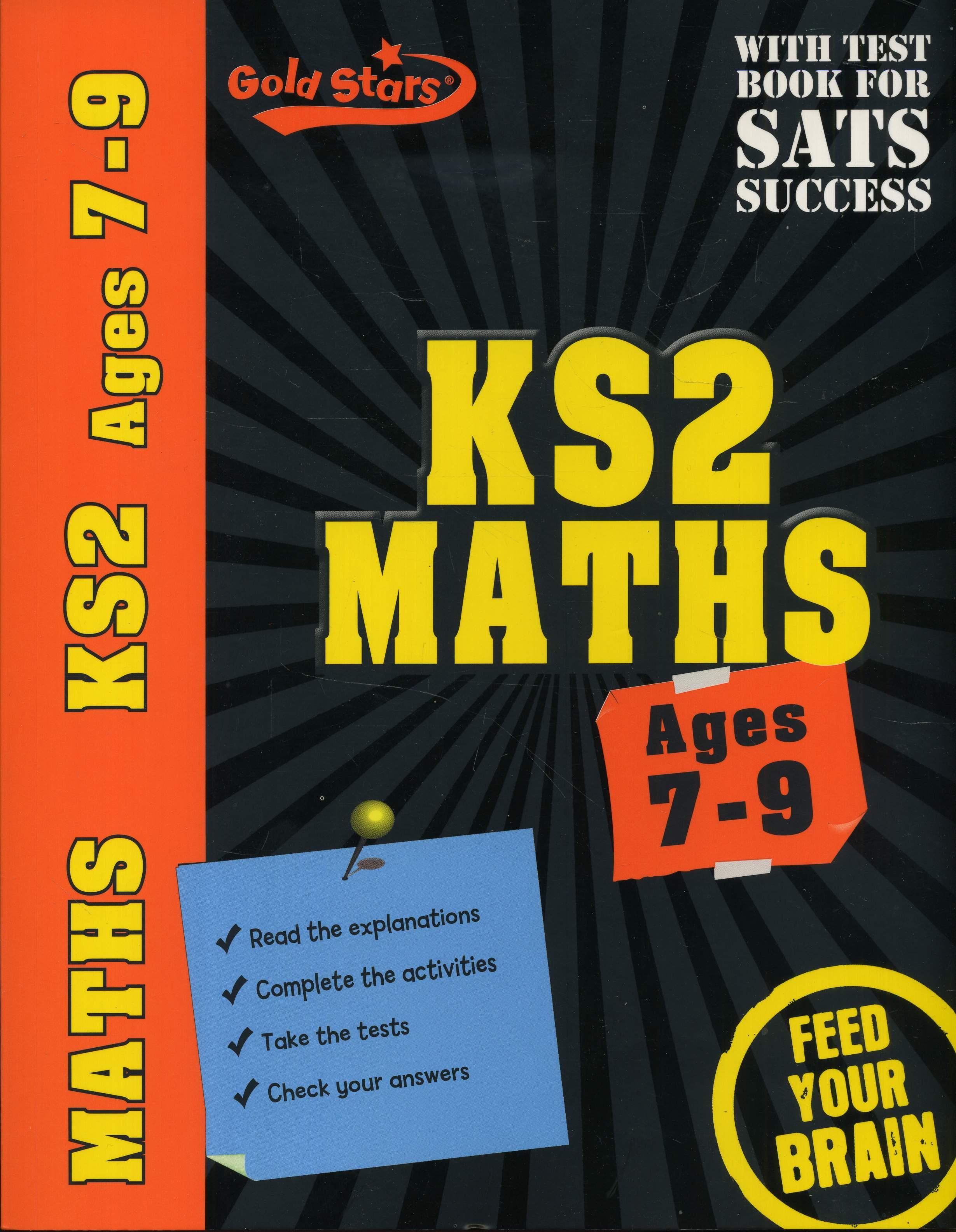 Maths Key Stage 2 Gold Stars Workbooks Ks2 Age 7 9 New