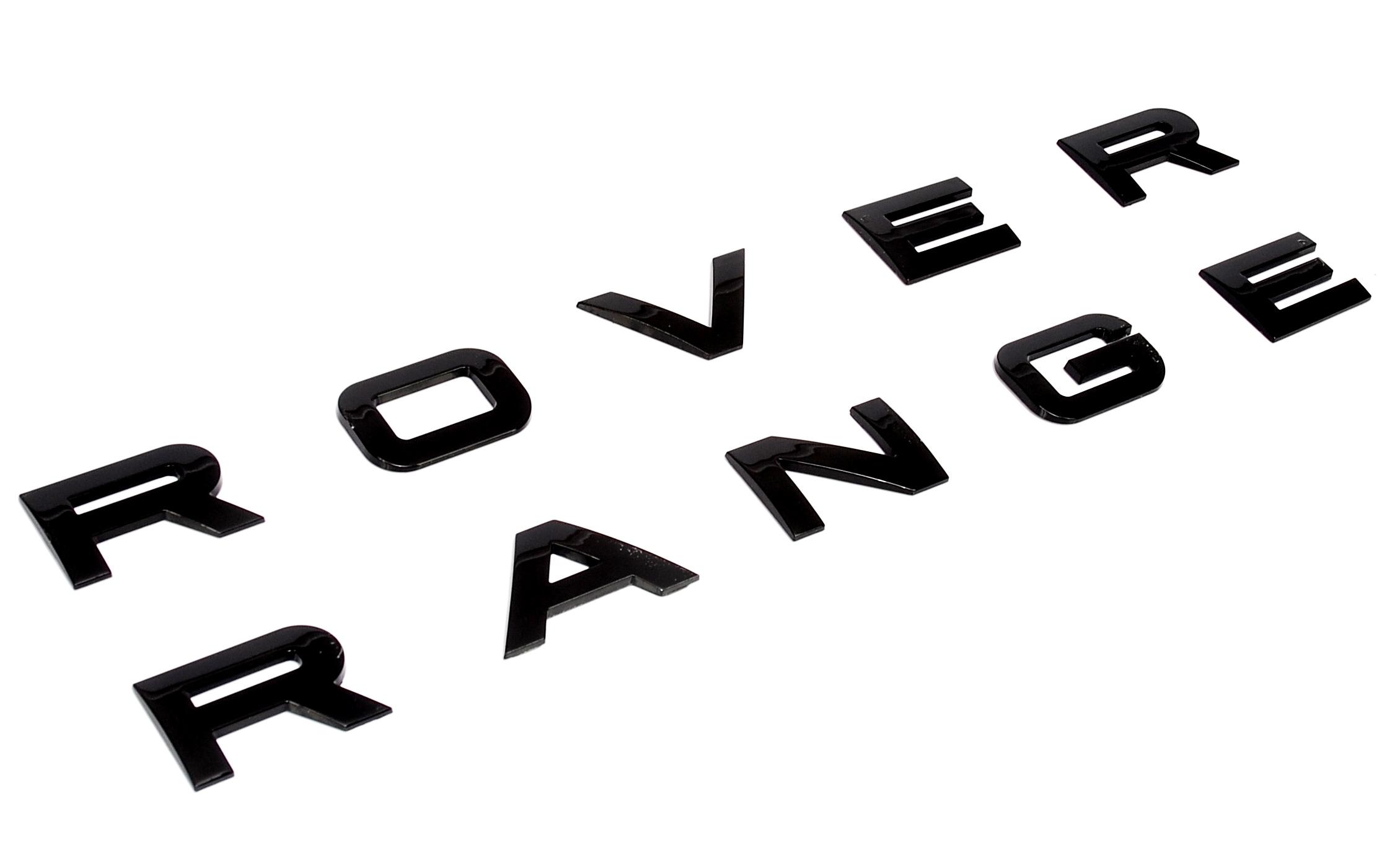Gloss Black Rear Tailgate Letter For Rangerover Sport Hatch Boot Lettering Badge