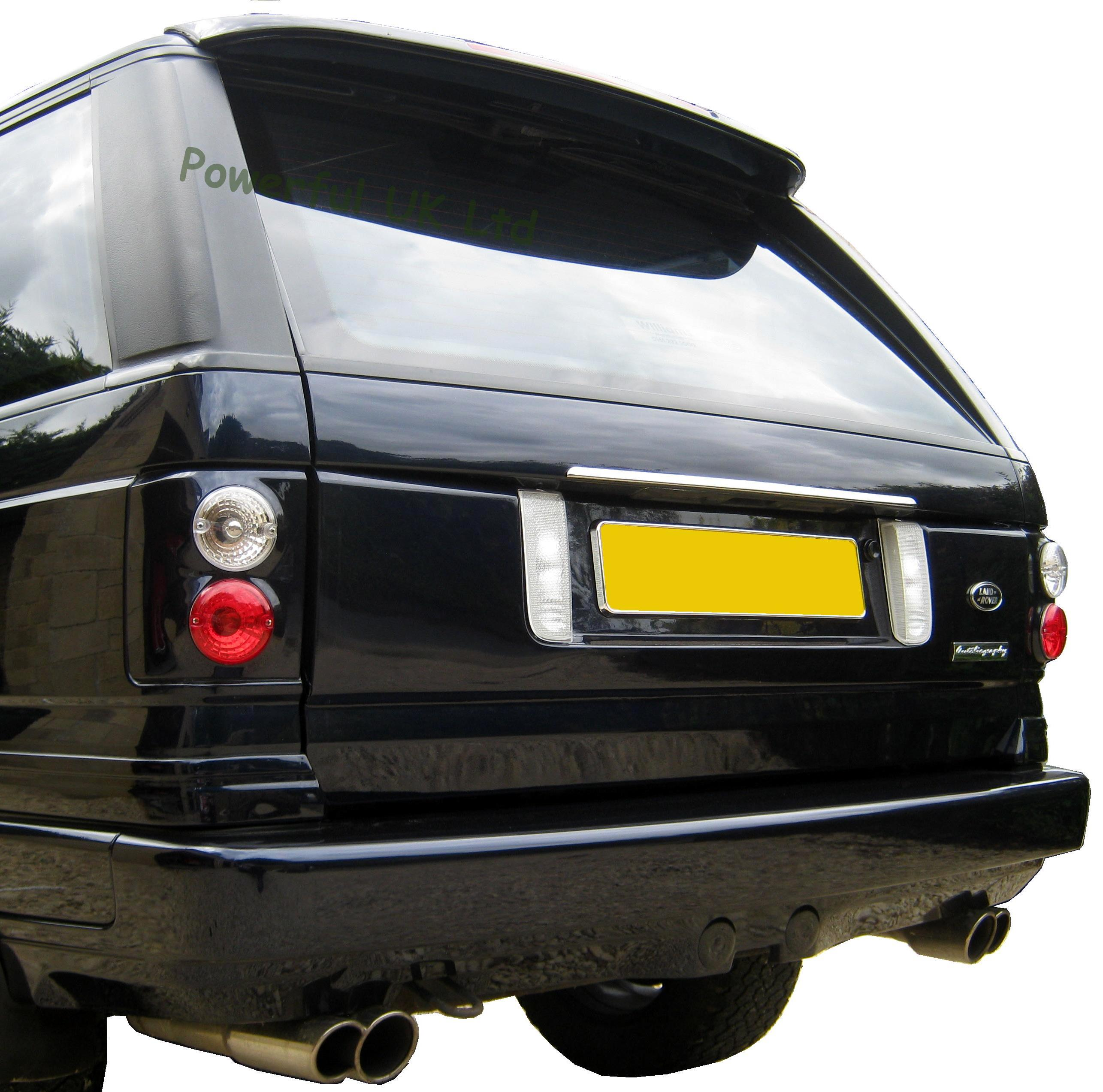 Range Rover P38 to L322 Rear tailgate conversion kit body moulding