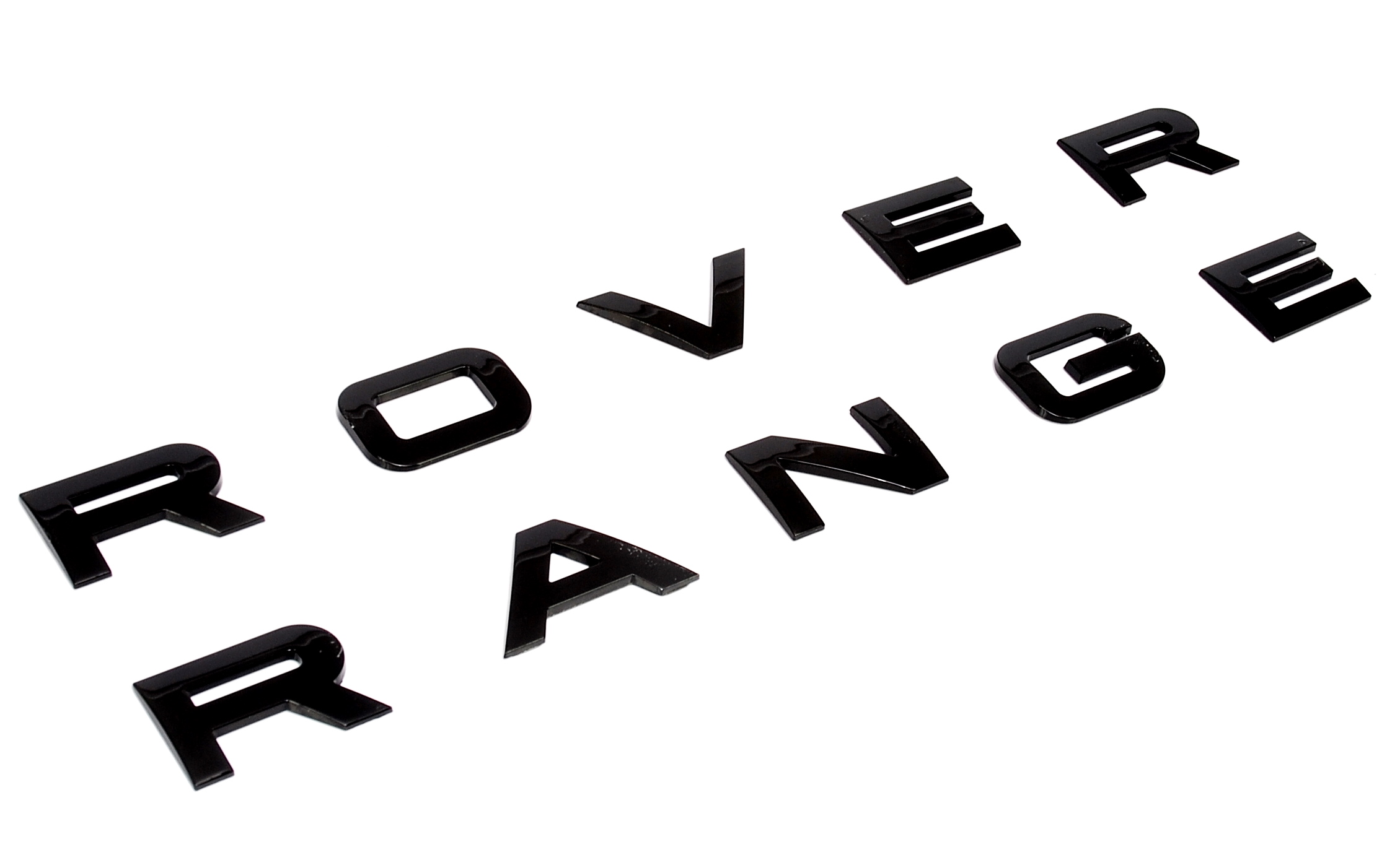 Gloss Black Piano Lettering For Range Rover Classic Bonnet