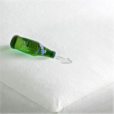 Linens Limited Terry Towelling Waterproof Mattress Protector