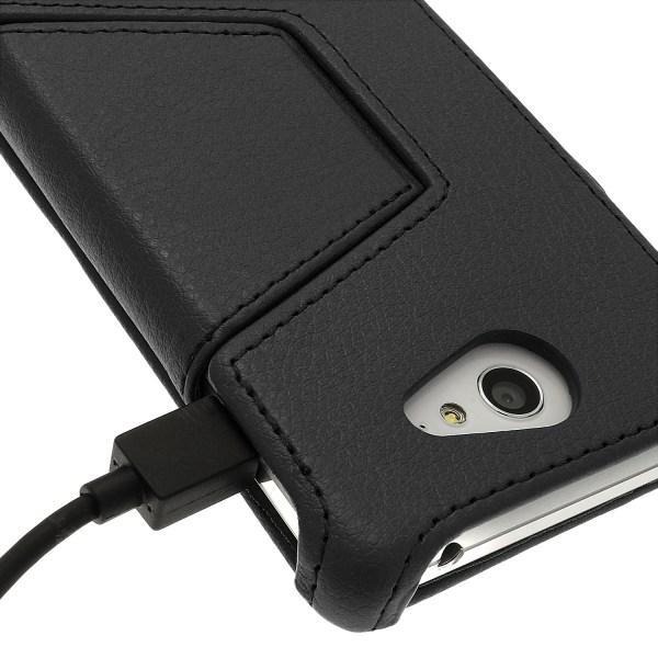 Cuir PU Etui Housse Flip Case pour Sony Xperia M2 D2303 ...