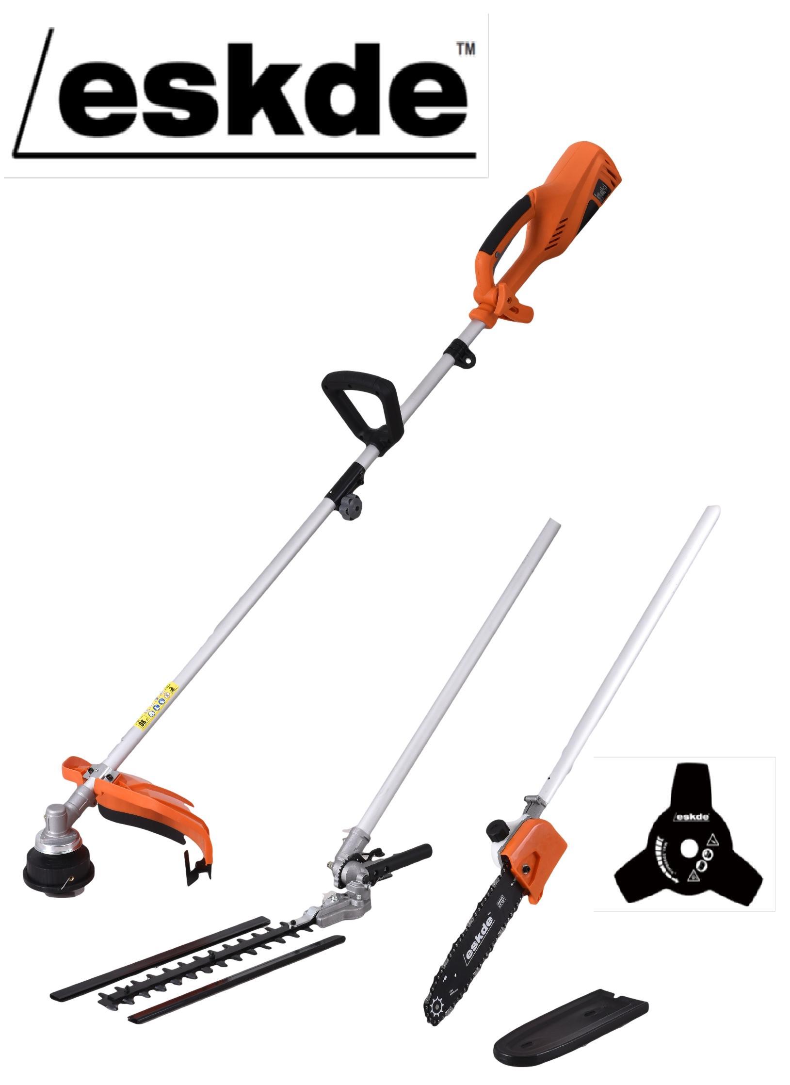 Eskde Electric Multi Tool W Brush Cutter Strimmer