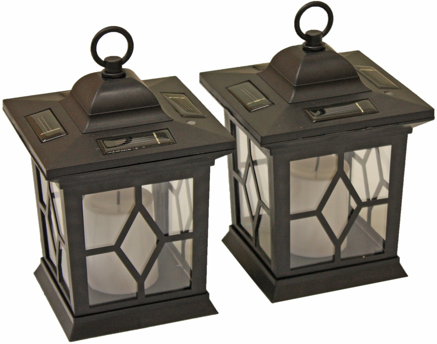 Solar Powered Coach Lanterns
