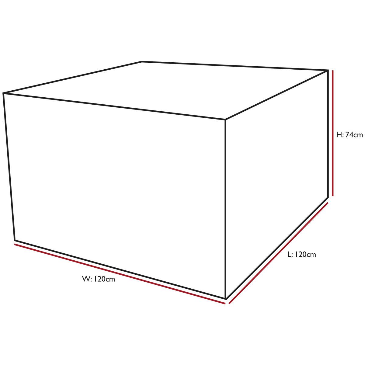 Woodside Rattan Cube Set Cover
