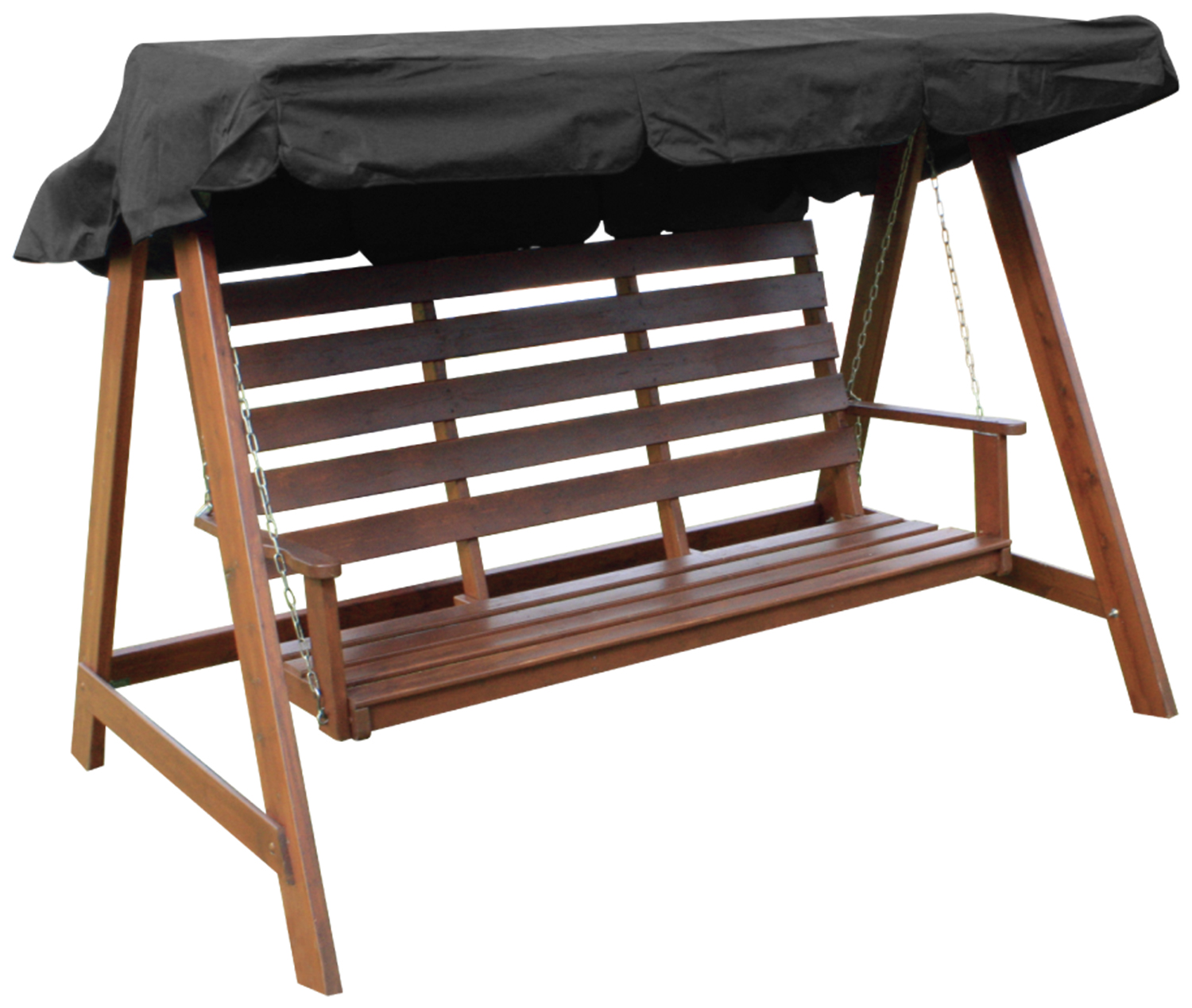 Woodside Swing Chair Replacement Canopy Black