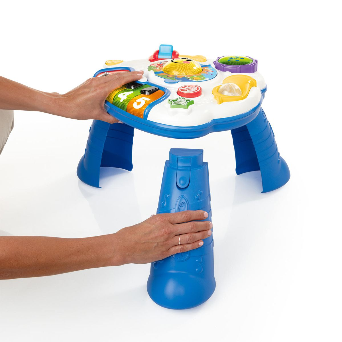 Baby Einstein Discover Music Activity Table Fun Play Amp Learn Toy In 3 Language