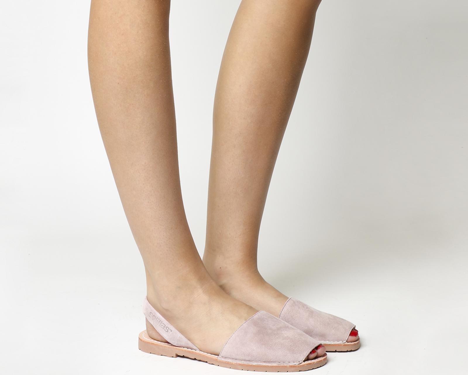 tendencias sandalias tipo solillas